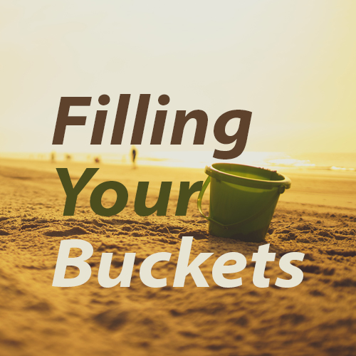 Everyday People filling your buckets series sermon art